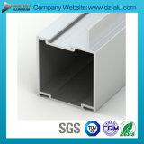상점 양극 처리된 청동을%s 가진 정면 알루미늄 6063 합금 밀어남 단면도