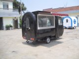 Carro móvil de los alimentos de preparación rápida de la calle de la motocicleta (SHJ-MFR220GH)