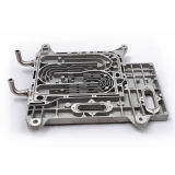 CNC maschinell bearbeiteter Aluminium- und Plastikprototyp