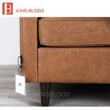 Ledernes geschnittensofa-gesetzte Hauptsofa-Möbel