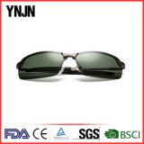 Lunettes de soleil polarisées par UV400 en plein air de sport de Mens neuf de demi de bâti (YJ-F3043)