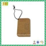 Hangtag de papel de la alta calidad con la impresión de Custome