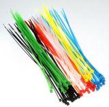 """"""" El bucle plástico de nylon del cable del abrigo del ajuste del cierre relámpago 8 ata libras de autoretención de lazo de nylon de Cabl del alambre las 50"""