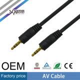 Cavi del RCA del cavo dell'OEM 3.5mm avoirdupois di prezzi di fabbrica di Sipu audio