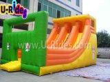 子供のための新しいデザイン二重スライドの膨脹可能なスライド