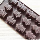 De Vorm van de Chocolade van het Silicone van het voedsel met 23*10.5*0.5cm voor Chocolade en Wafel