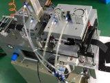 De automatische Hete Scherpe Machine van de Band van het Mes met het Gat en het Verzamelen van van het Ponsen Apparaat