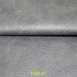 O melhor couro sintético de venda do plutônio do material de matéria têxtil com garantia de qualidade