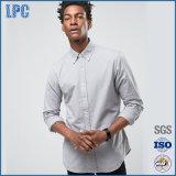 Het hete Overhemd van de Mensen van de Manier van de Lente van de Stijl van de Straat van de Verkoop Basis Slanke Geschikte