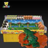 La Cabina-Rana del juego del carnaval salta