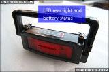 36V 10ah Batterij van het Lithium van het Type van Rek van Ebike de Li-Ionen met Lader