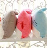 만화 인물은 나의 이웃 Totoro 모양 방석 베개 선물에 의하여 채워진 견면 벨벳 장난감을 주문을 받아서 만들었다