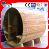 Sitio al aire libre de la sauna de la persona del jardín 4 de la dimensión de una variable redonda