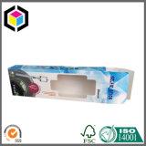Коробка лоснистого картона окна ясности цвета пластичного бумажная упаковывая
