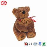 Hug de urso grande do brinquedo do luxuoso bebê encantador uma peluche enchida