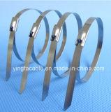 Edelstahl-Kabel Binden-Kugel Verschluss-unbeschichtete Gleichheit