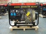 De enige Diesel van de Cilinder 2.2kVA Draagbare Generator van het Lassen