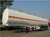4 Wellen-Kraftstoff-Tanker-Öl-Dieseltransport-halb Becken-Schlussteil