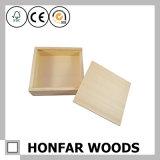 DIY를 위한 고품질 미완성 나무로 되는 선물 상자 저장 상자