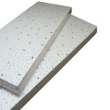 Mineralfaser-Decken-Fliese (feines gespaltetes, Kiefer-Loch)