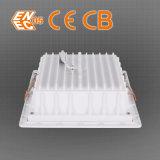 el cuadrado mencionado LED de la FCC de RoHS del Ce de 30W 2400lm abajo se enciende