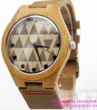 la montre-bracelet en bois du couple des montres-bracelet des hommes bon marché en bois de montre de la vente 2016hot