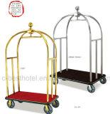 Грандиозная вагонетка багажа тележки Bellman гостиницы