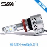 Indicatore luminoso LED Headlight&#160 dell'automobile di H11 60W 6000k; Parts&#160 automatico; Indicatore luminoso bianco di CC 12-24V