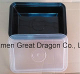 Nahrungsmittelvorratsbehälter-Mittagessen-Tellersegment-Mikrowelle und Spülmaschine-Safe (LB12007)