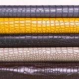 2016 heißes Verkaufs-gefälschtes Krokodil geprägtes Schuh-Leder