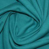 tessuto della nervatura dello Spandex del cotone 260GSM per vestiti