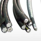 Al 12.7/22kv/XLPE padrão do IEC 60502/cabo ABC do PVC