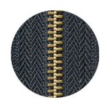 Zipper Zipper-Quente da venda do bronze/metal, Zipper do nylon da extremidade aberta