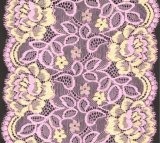 Шнурок вышивки 2 цветов цветистый для платья венчания Бюстгальтера Нижнего белья повелительницы по низким ценам