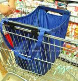 Einkaufstasche-nicht gesponnener Einkaufswagen-Beutel Fernsehapparat-Zupacken-Beutel