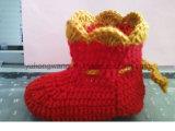 De warme Met de hand gemaakte het Haken Sokken van de Baby, Kousen