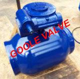 управляемый шестерней уменьшенный шариковый клапан Bore 150lb/300lb/600lb/900lb польностью сваренный (GARQ361PPL)