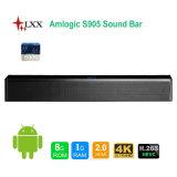 Androider Einfassung WiFi Bluetooth Lautsprecher androider Soundbar Fernsehapparat-Kasten des neuen Produkt-2017 Haupttheater-des Systems-3D