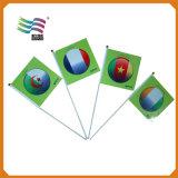 Mini kundenspezifische fördernde Polyester-Drucken-Handwellen-Markierungsfahnen (HYHF-AF018)