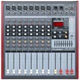 Un amplificador más grande del profesional de la serie del mezclador Am-Qx80 del nuevo diseño especial
