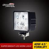 Luz cuadrada del trabajo de la linterna LED del CREE de 4.5inch 40W