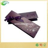 Boîte-cadeau colorée avec la bande de satin dans le modèle de mode (CKT-CB-152)