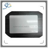 Cartão em branco esperto Printable padrão de tamanho RFID NFC de ISO
