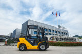 2.5t Gasoline LPG Gas Dual Fuel Cushion Forklift
