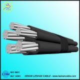 Al 12.7/22kv/cabo empacotado aéreo do ABC cabo de XLPE padrão do IEC 60502/PVC