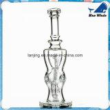 Bw103 pipes en verre en verre de narguilé du tabac DEL Shisha