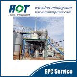 Projeto EPC para planta de processamento de cilim de ouro 500t / D