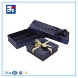 Caixa de presente personalizada vinho do papel de embalagem do relógio da pena da composição