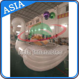 Wasser-Towable aufblasbarer Sport Equopment, riesige Schwan-Wasser-Trampoline für Spaß