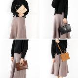 粋なレディースハンドバッグ、方法様式の学生かばん袋、簡単な女性のハンドバッグ
